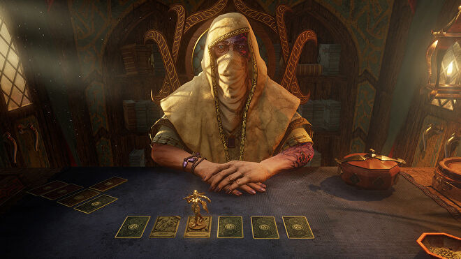 The Dealer in a Hand Of Fate 2 screenshot.