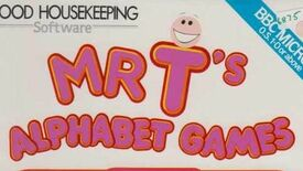 Image for Have You Played… Mr T's Alphabet Games?
