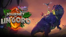 Image for Hearthstone's next expansion coming April (with dinos)