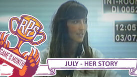 Image for Game of the Month: July – Her Story