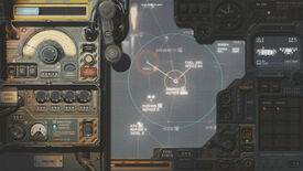 A screenshot showing some of HighFleet's flaps and knobs on its skeuomorphic interface.