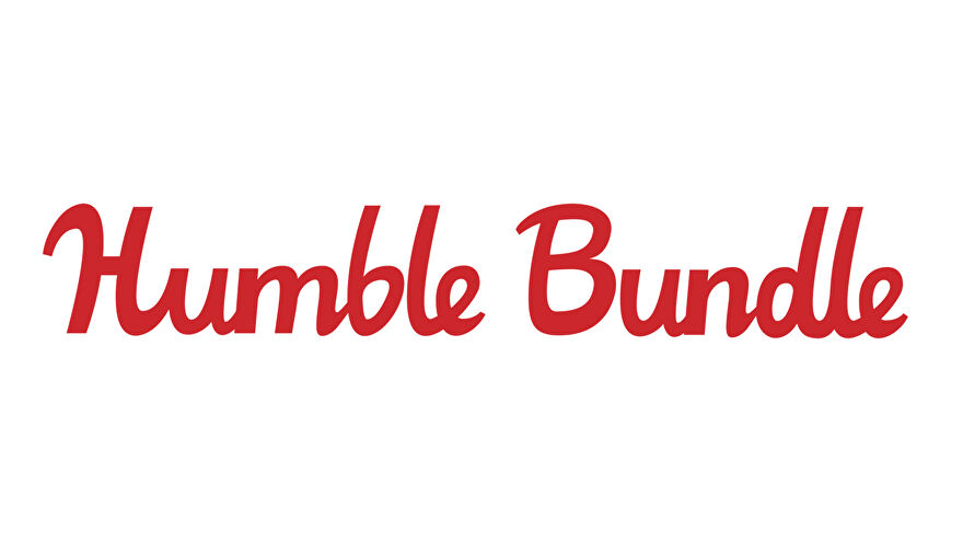 The Humble Bundle logo in red text on a white background.