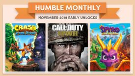 Image for CoD, Crash and Spyro are November's Humble Monthly early unlocks