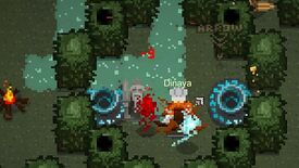 Image for Hunger Dungeon is a pixel art MOBA, out now