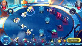 Image for Monster card battler Duelyst cosies up to Bandai Namco