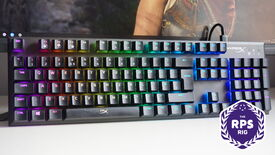 Image for HyperX Alloy FPS RGB review: Move over Cherry, it's Kailh time