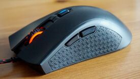 Image for HyperX Pulsefire FPS review: What it lacks in customisation, it makes up for in comfort