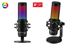 Image for HyperX's Quadcast S microphone gets an RGB makeover