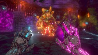 Image for Into The Pit review: a gorgeous roguelike shooter that sadly descends into comfortable familiarity