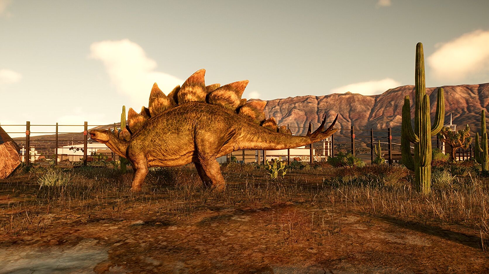 I hope Jurassic World Evolution 2 will just let me build a nice, peaceful dino park
