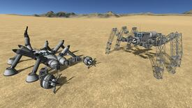 Image for Kerbal Space Program: Breaking Ground DLC to add stompy space robots