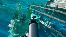 Image for King Tide is underwater battle royale with sharks