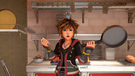Sora says 'you gonna make me cook?' in Kingdom Hearts 3.