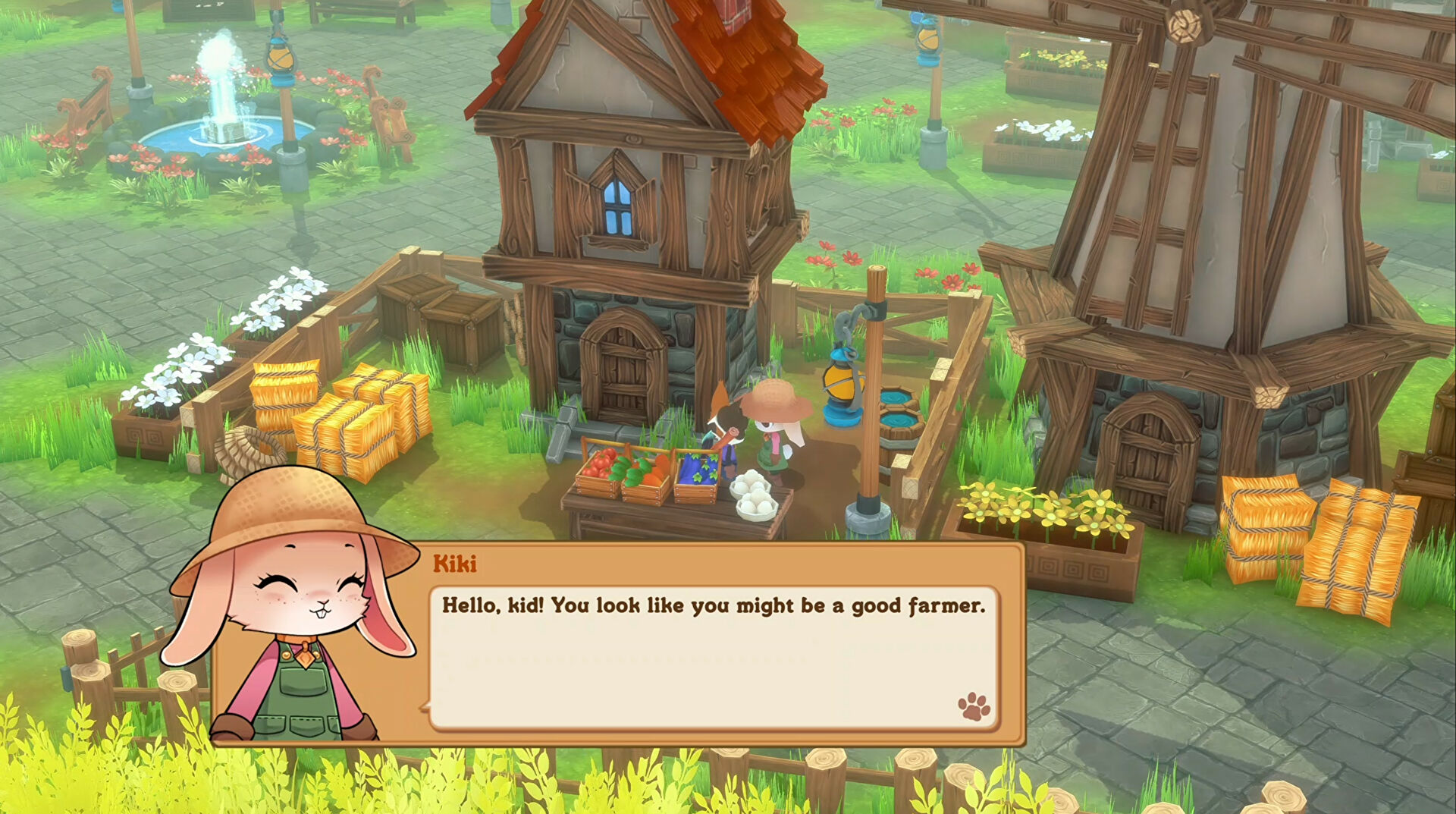 Kitaria Fables is an action RPG Stardew but with cats