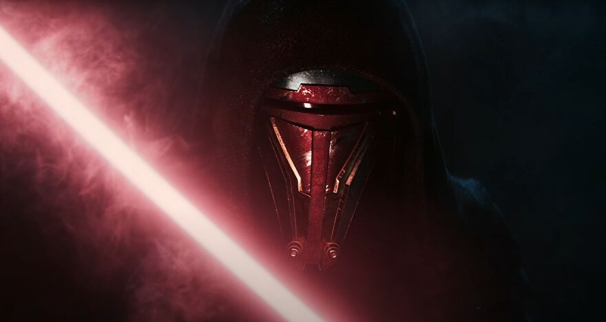 A still from the teaser trailer announcing Star Wars: Knights Of The Old Republic Remake.