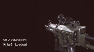 Image for Best Krig 6 loadout and class setup in Warzone