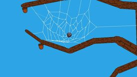 Image for Experience a burst of pure joy at this teeny tiny spider game