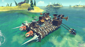 Image for Ship Builder The Last Leviathan Docks At Early Access