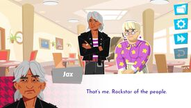 Image for Octogenarian dating sim Later Daters releases its first episodes