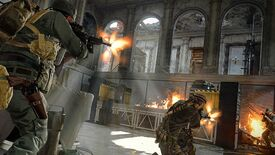 Warzone operators battle in the interior of a mansion.