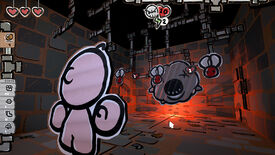 Image for The Legend Of Bum-bo, a cardboard Isaac prequel, is out now