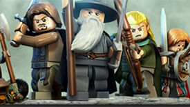 Image for You Shall Not Pass On The Lego LOTR Demo