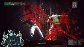 Image for Grasshopper's Let It Die stabbing towards PC in autumn