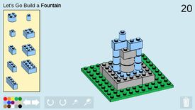 Image for Challenge yourself to a tiny Lego build every day in this browser game