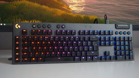 Image for Our favourite wired Logitech gaming keyboard is £50 off today