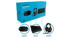 Image for Get a Logitech gaming keyboard, mouse and headset for £65