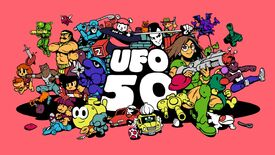 Image for UFO 50, the compilation from the makers of Spelunky and Downwell (among others) is out soon