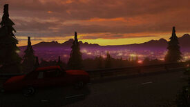 Image for First-Person Fiddler: Magenta Sunset's Minute Interactivity