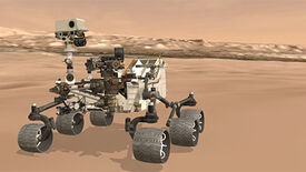 Image for Mars On Tracks: NASA's Unity-Powered Curiosity