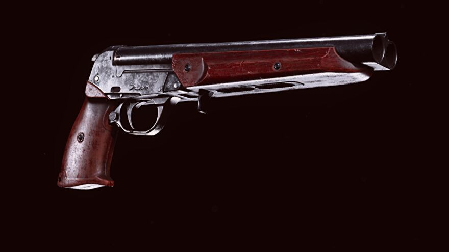 The Marshal pistol in Warzone