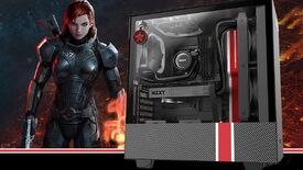 Image for Why doesn't this Mass Effect PC case look like a spaceship?