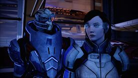 Garrus and Shepard stood next to each other during Garrus's loyalty mission in Mass Effect 2.