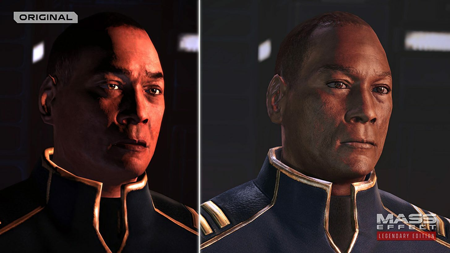 Mass Effect's graphical remaster is more than lens flare - but does it look better?