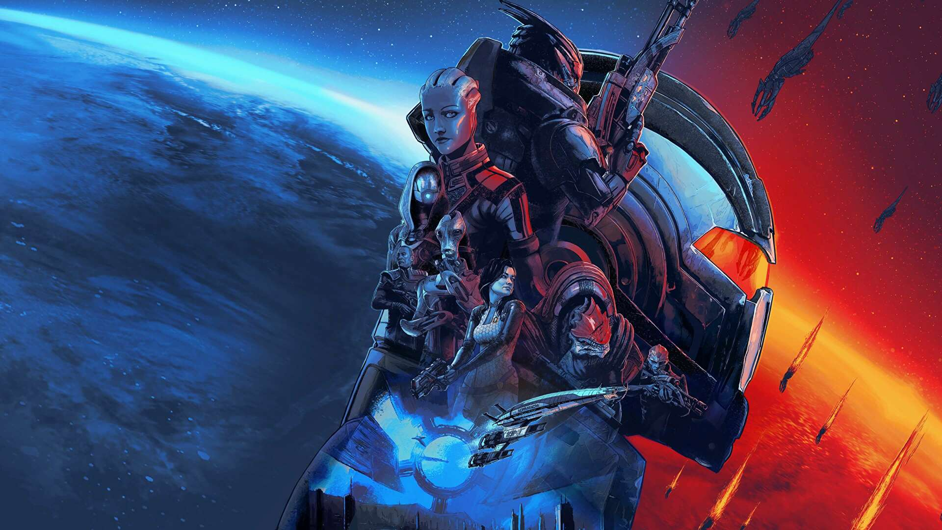 <p>BioWare Published a load of cool Mass Effect freebies Before the Legendary Edition launch thumbnail