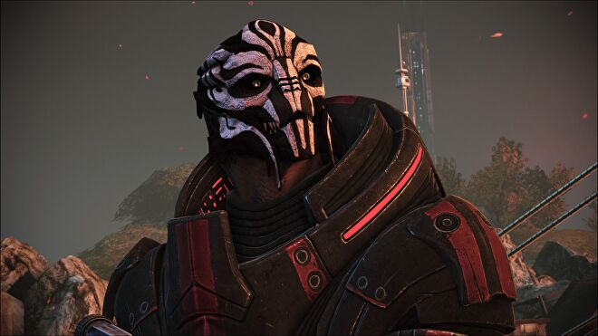 """Mass Effect's """"I move faster on my own"""" Nihlus, right before Saren shoots him."""