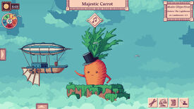 Image for Merchant Of The Skies is a game about making money and befriending vegetables