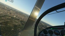 Image for A typo may be behind Microsoft Flight Sim's unholy Melbourne spire
