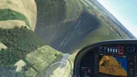 Image for A perfectly normal abyss has appeared in Microsoft Flight Sim