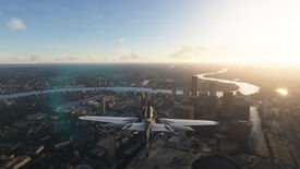 Image for It sure looks like Microsoft Flight Simulator evicted the Queen