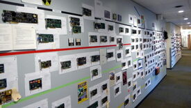 Image for Microsoft show off their wall of GPU history