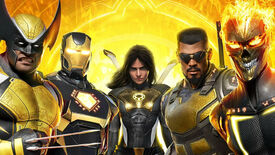 The heroes pose in Marvel's Midnight Suns art.