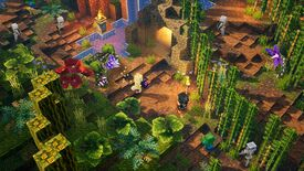 Image for Minecraft Dungeons' first DLC Jungle Awakens is out now