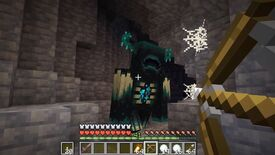 Image for Mojang don't want you to fight the scary Wardens in Minecraft's Caves & Cliffs update