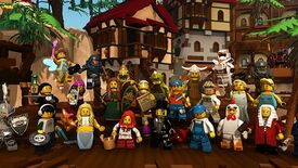Image for First Look: Lego Minifigures Online