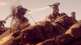 Image for Battletech's campaign mode is a robot Dark Ages