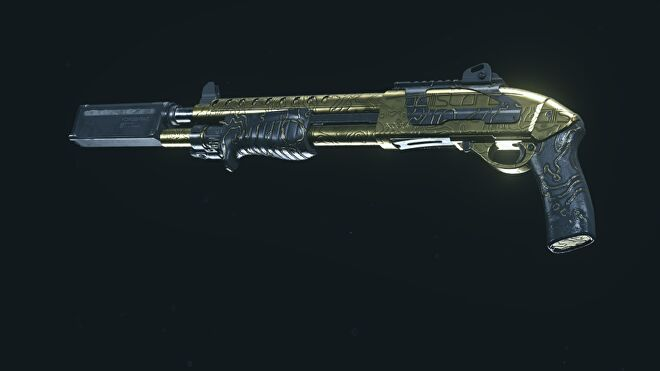 A Gold Model 680 in Warzone
